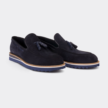 Keanne Loafer Shoes // Navy Blue (Euro: 38)