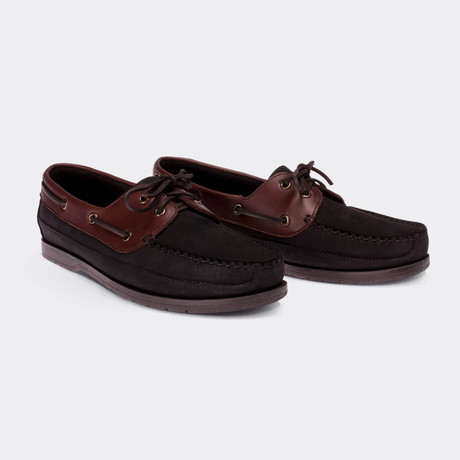 Harley Boat Shoes // Black (Euro: 38)