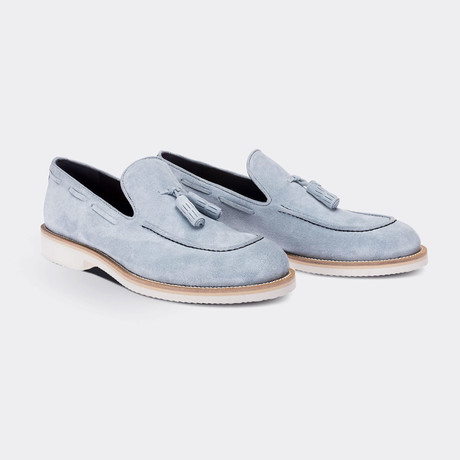 Zayden Loafer Shoes // Blue (Euro: 38)