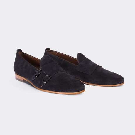 Hunt Casual Shoes // Navy Blue (Euro: 38)
