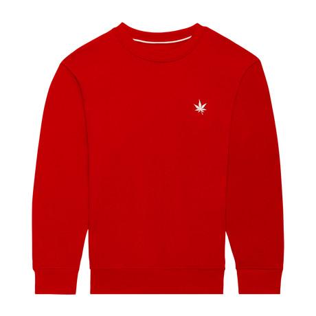 Pullover Crewneck // Boast Red (S)