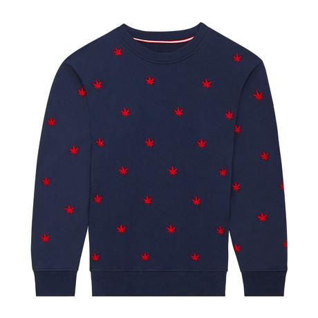Monogram Pullover // Navy Blazer (S)