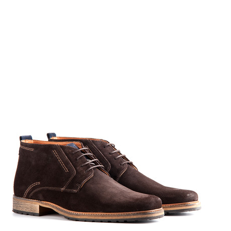 London Suede // Dark Brown (Euro: 40)