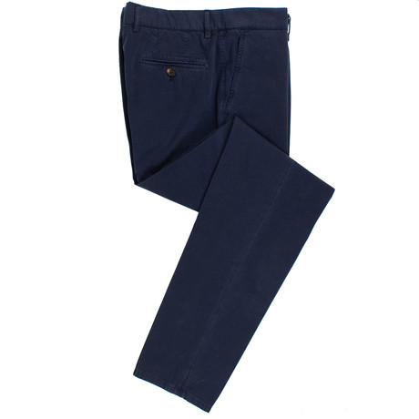 Cotton Dress Pants // Navy Blue (50)