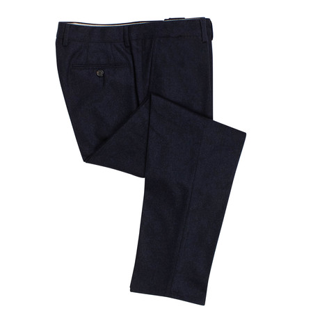 Wool Dress Pants // Blue (56)