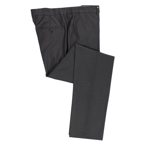 Blend Pleated Dress Pants // Charcoal Gray (58)