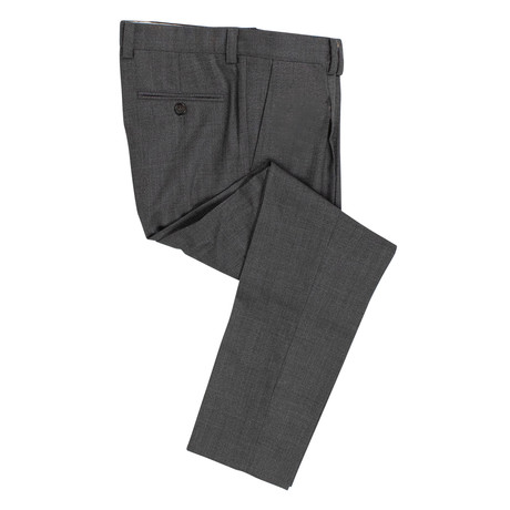 Wool Pleated Dress Pants V2 // Gray (50)