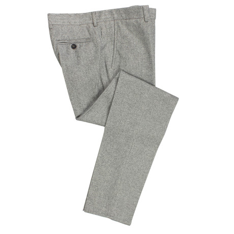 Herringbone Dress Pants // Gray (54)