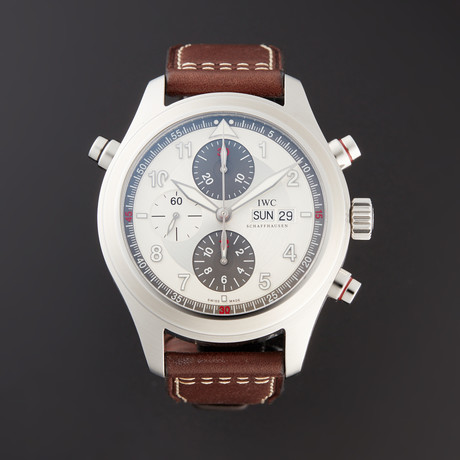 IWC Pilot's Watch Spitfire Double Chronograph Automatic // IW3718-06 // Pre-Owned