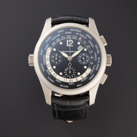 Girard Perregaux WW.TC Financial Chronograph Automatic // 49805 // Pre-Owned