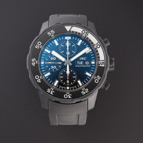 IWC Aquatimer Chronograph Galapagos Automatic // IW3767-05 // Pre-Owned