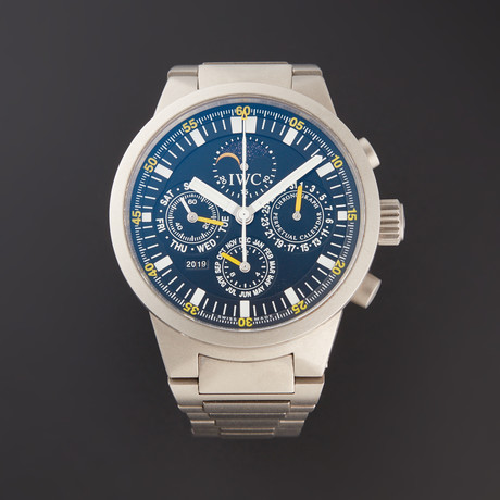 IWC GST Perpetual Calendar Chronograph Automatic // IW3756-03 // Pre-Owned