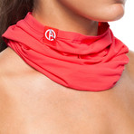 Infrared [AR] Neck Tube // Neon Coral