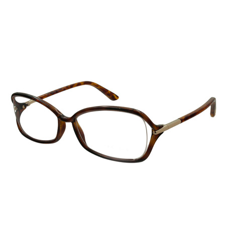 Women's FT5206 Eyeglass Frames // Tortoise