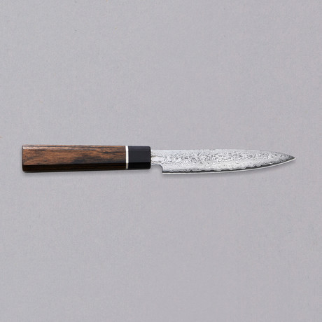Petty Knife // Black Damascus
