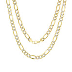 Solid 10K Yellow Gold Mariner Chain Bracelet // 4.5mm