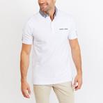Grayson Short Sleeve Polo Shirt // White (Small)