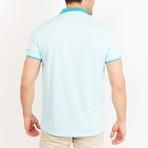 Paul Short Sleeve Polo Shirt // Sky Blue (Small)