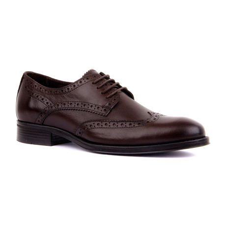 Austin Cap Toe // Brown (Euro: 39)