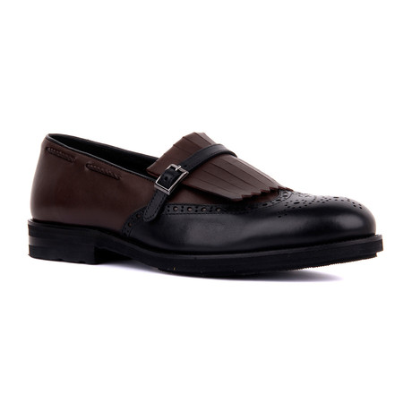 Jaxson Antique // Black + Brown (Euro: 39)