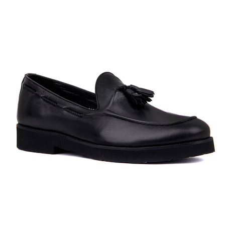 Angel Scotch Loafers // Black (Euro: 39)