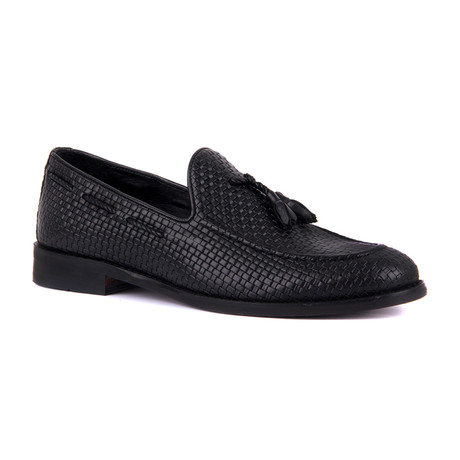 Jeremiah Scotch Loafer // Black (Euro: 39)