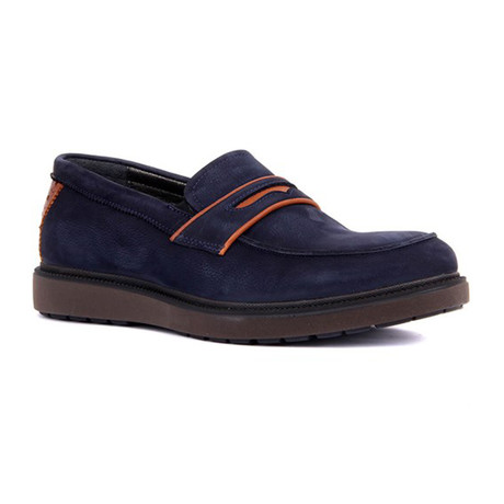 Brayden Buffon Loafers // Navy (Euro: 39)