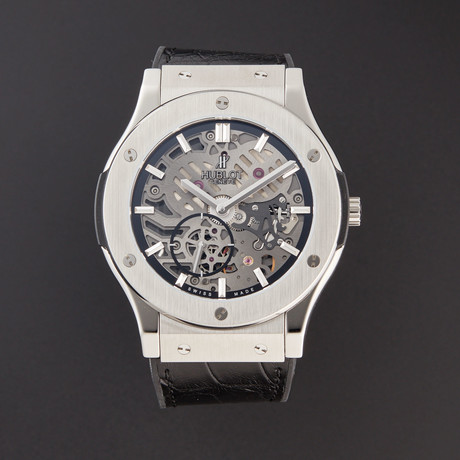Hublot Classic Fusion Ultra-Thin Manual Wind // 515.NX.0170.LR // Pre-Owned