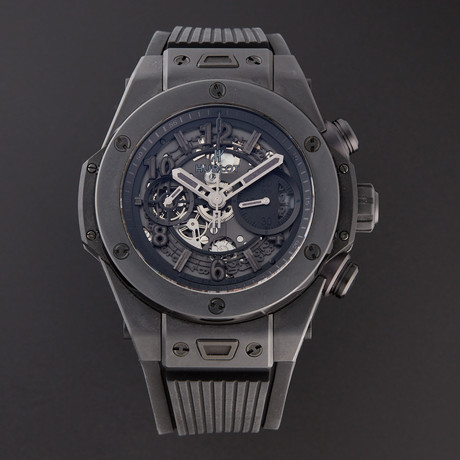 Hublot Big Bang Unico Black Magic Chronograph Automatic // 411.CI.1170.RX // Pre-Owned