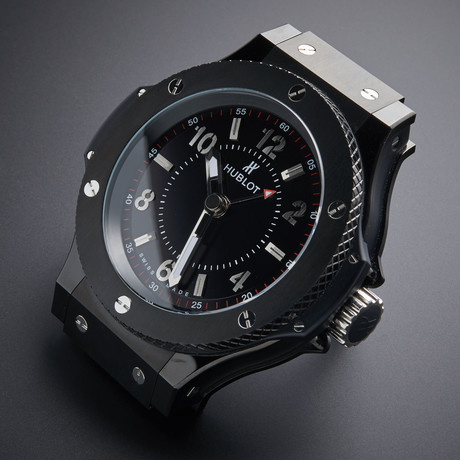 Hublot Black Magic Quartz Desk Clock // DC.01.CH // Pre-Owned