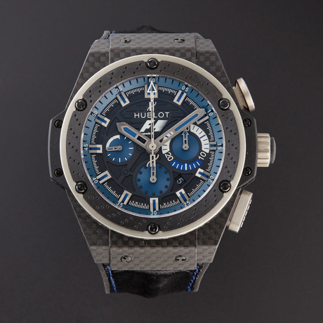 Hublot King Power F1 Interlagos Chronograph Automatic // 703.QM.1129.FIL11 // Pre-Owned