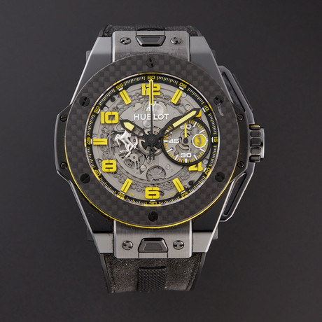 Hublot Big Bang Ferrari Unico Chronograph Automatic // 401.CQ.0129.VR // Pre-Owned