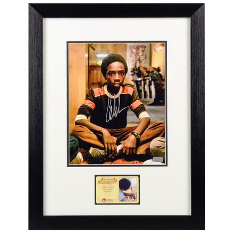 Caleb McLaughlin Autographed Stranger Things Lucas Framed
