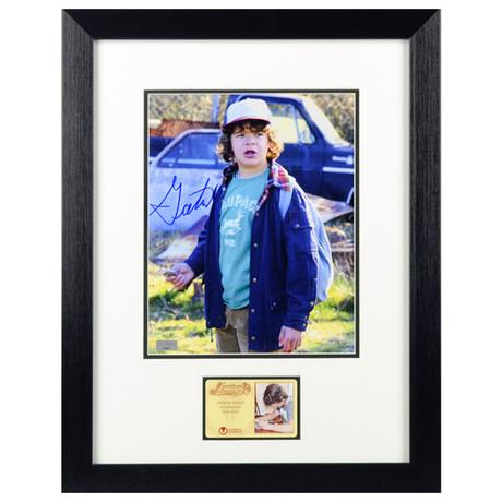Gaten Matarazzo Autographed Stranger Things Dustin Framed