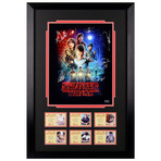 Stranger Things Cast // Framed + Autographed Season 1 Display