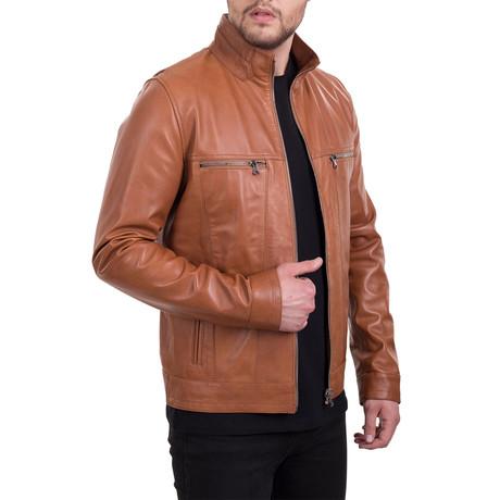Full Zip Jacket // Cognac (XS)