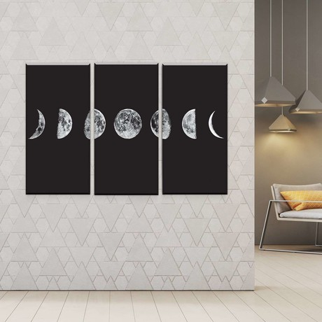 Lunar Cycles (Medium // 1 Panel)