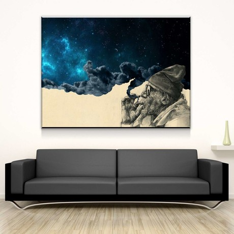 Smoke and Wonder Canvas Set (Medium // 1 Panel)