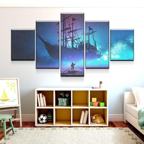 Dreamship Canvas Set (Medium // 1 Panel)
