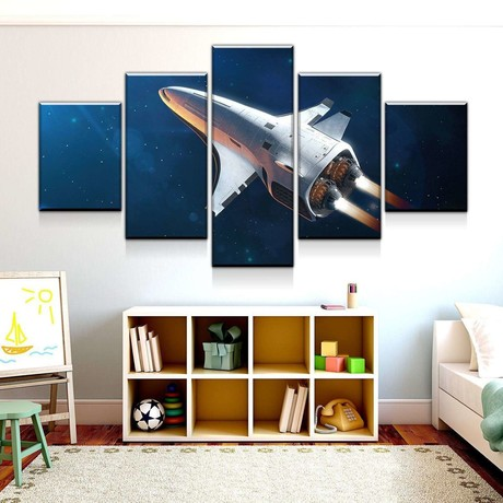 Classified Spacecraft Canvas Set (Medium // 1 Panel)