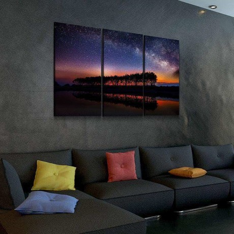 Nonstop Nebula Canvas Set (Medium // 1 Panel)