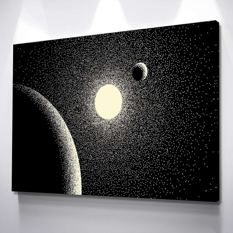 Solar Flare Canvas Set (Small // 1 Panel)