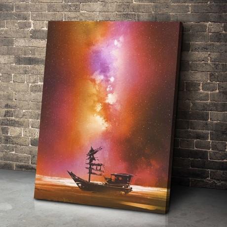 Cosmic Junk Canvas Set (Small // 1 Panel)
