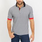 Augustin Short Sleeve Polo Shirt // Black (Medium)