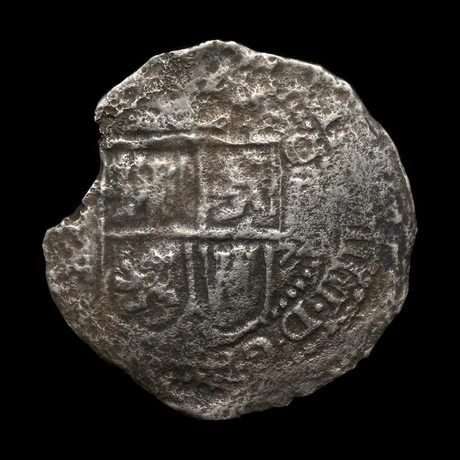 "Silver ""Piece of Eight"" // Wreck of the Capitana, 1654"