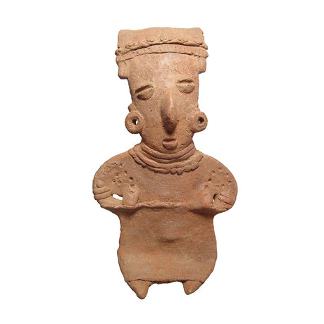 Large Michoacan Pregnant Woman // Mexico, 100 BC - AD 250