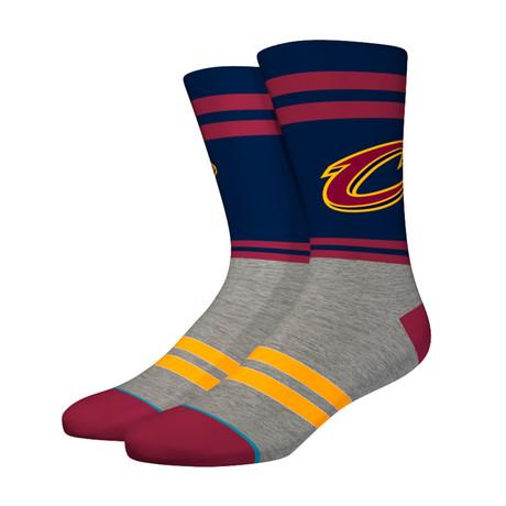 City Gym Cavs Socks // Navy (S)