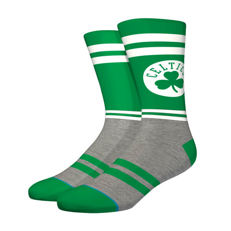 City Gym Celtics Socks // Green (M)