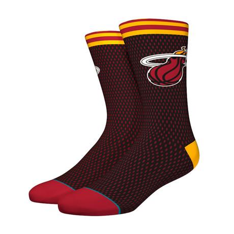 Heat Jersey Socks // Black (S)