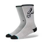 Spurs Jersey Socks // Gray (L)
